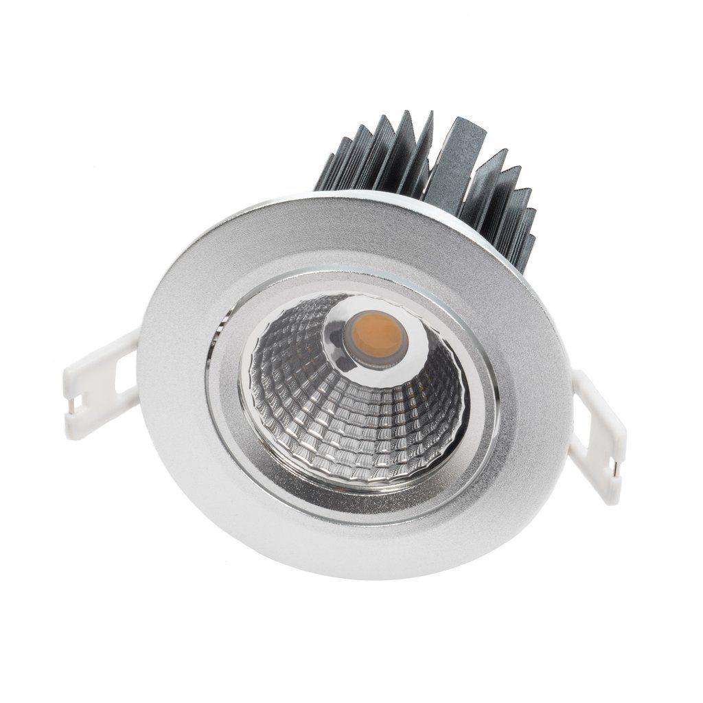 "3.5"" Single Array LED Recessed Light for Flat or Sloped Ceilings - 10W"