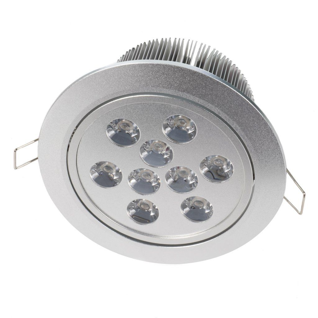 "5.4"" Recessed Light for Flat or Sloped Ceilings 9 LED - Standard Bright (9W)"