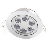 "NSF Certified 4.2"" LED Recessed Light for Flat or Sloped Ceilings - 6 LED (6W)"